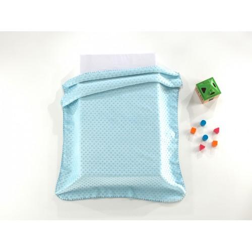 ALGODÃO DOCE - D/J61 [Cobertor - Azul]