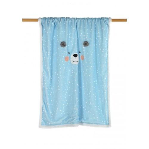CARINHO - J75 [Cobertor - Azul]