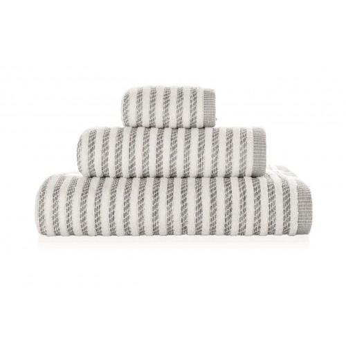 NEW YORK - [Conjunto de três (3) toalhas de Banho - Grey]