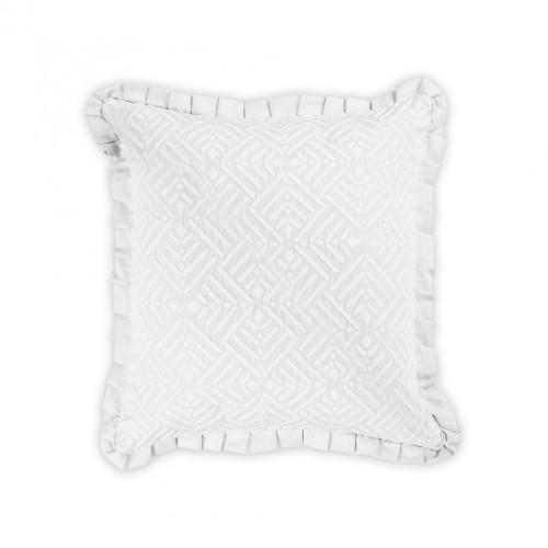ATILO - [Almofada Decorativa - Branco]