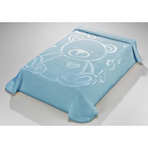 URSINHO CARINHOSO - 197 [Cobertor - Azul]