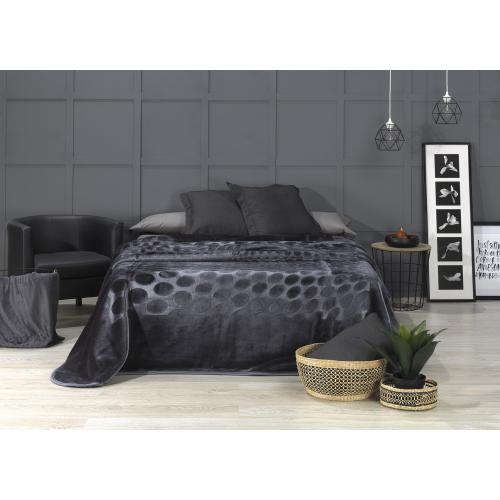 ALEXIS - D413-36 [Cobertor - Gris Oscuro]