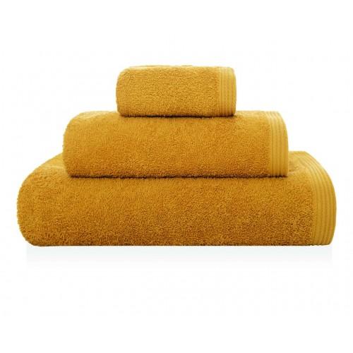 NEW PLUS - [Conjunto de três (3) Toalhas de Banho - Pale Gold]