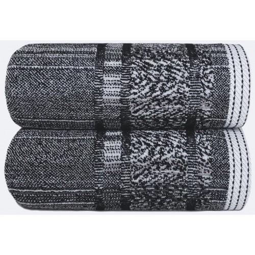 MAZE - [Conjunto de três (3) Toalhas de Banho - Black]