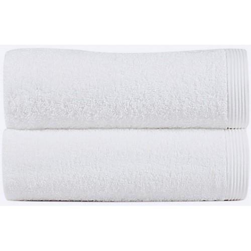 NEW PLUS - [Conjunto de três (3) Toalhas de Banho - Branco]
