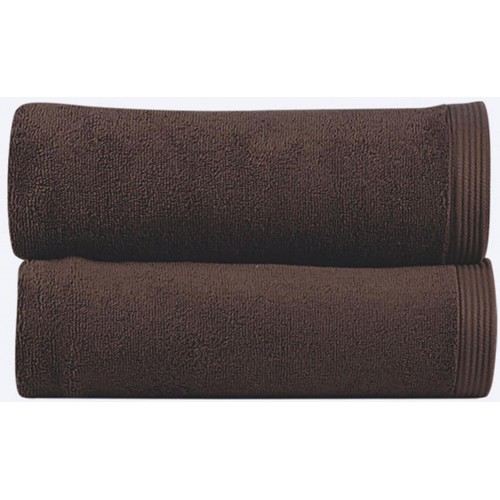 NEW PLUS - [Conjunto de três (3) Toalhas de Banho - Chocolate]