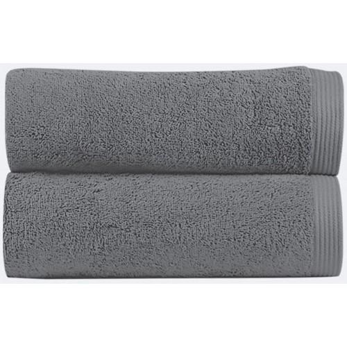 NEW PLUS - [Conjunto de três (3) Toalhas de Banho - Magnetic Grey]