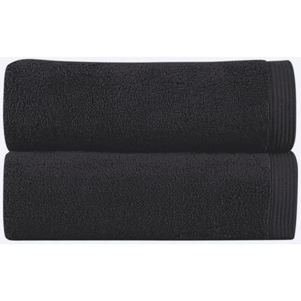 NEW PLUS - [Conjunto de três (3) Toalhas de Banho - Black]