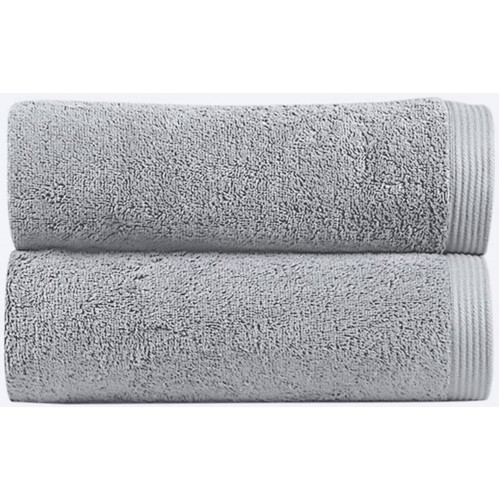 NEW PLUS - [Conjunto de três (3) Toalhas de Banho - Silver]