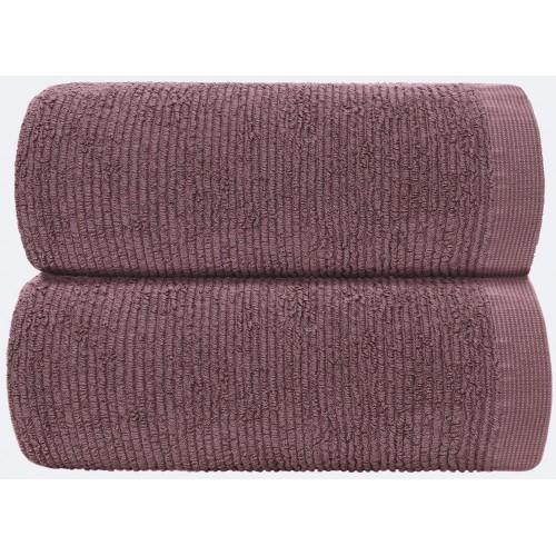 RIBBON - [Conjunto de três (3) Toalhas de Banho - Marsala]